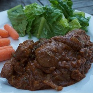 Smothered Beef Liver