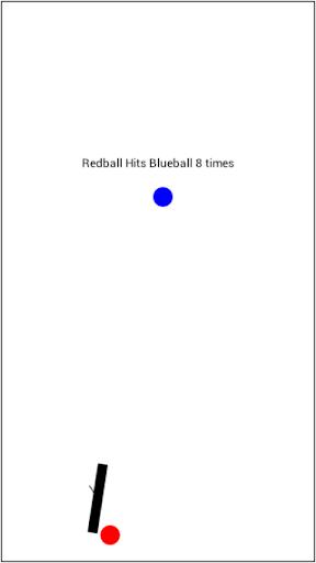 Redball Hits Blueball