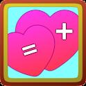 Love calculator donate icon