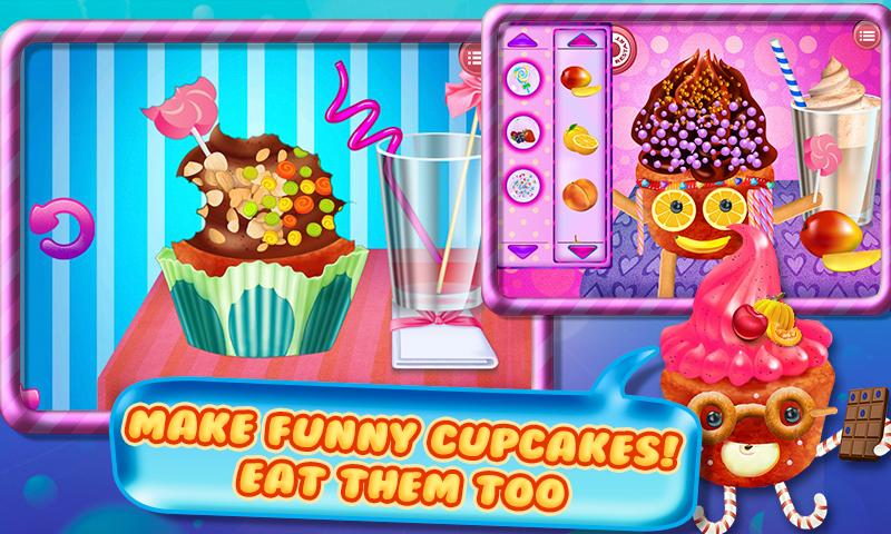 Cupcake Maker Crazy Chef - screenshot