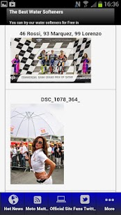 MotoGP Fans App - screenshot thumbnail