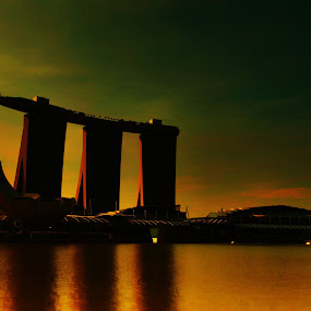 Golden Moment. by Shahrul A Hamid - Buildings & Architecture Office Buildings & Hotels (  )
