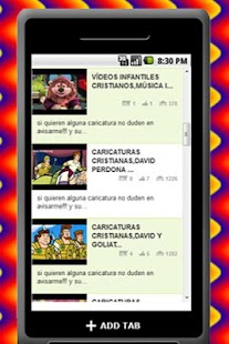 Caricaturas Cristianas - screenshot thumbnail