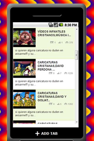 Caricaturas Cristianas - screenshot