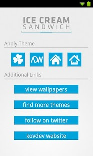 Ice Cream Sandwich (theme) - screenshot thumbnail