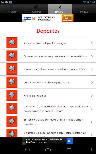【免費新聞App】Chile Noticias-APP點子