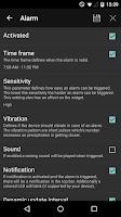 Screenshot of Rain Alarm