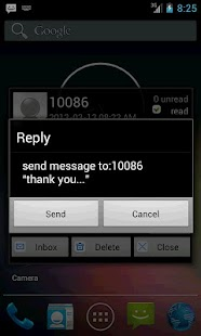 Pop SMS- screenshot thumbnail