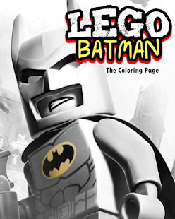 Lego Coloring Batman Toddler