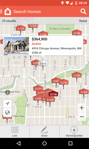 HomeSpotter Real Estate Search