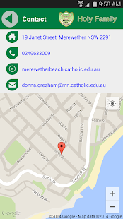 Holy Family Merewether Beach- screenshot thumbnail