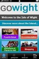 Screenshot of The GoWight App