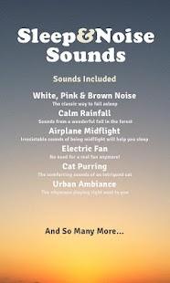 玩免費醫療APP|下載Sleep And Noise Sounds Extra app不用錢|硬是要APP