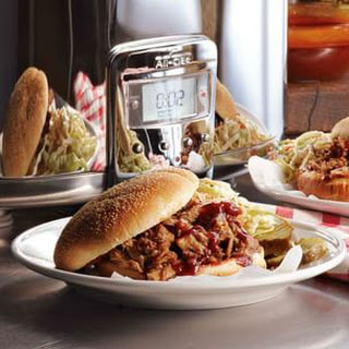 Bryan Voltaggio's Pulled Pork Sandwiches