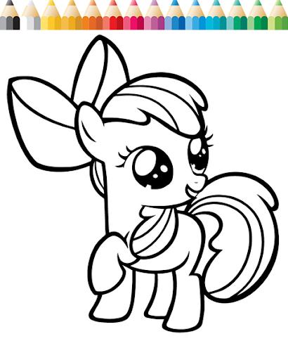 Coloring : Equestria Pony