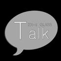 RX4 KakaoTalk Theme-GLASS icon