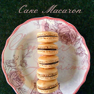German Chocolate Cake Macaron.