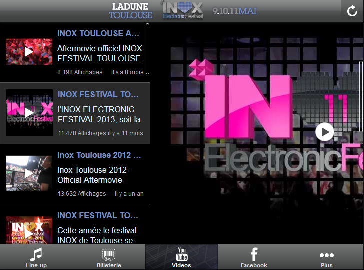 Inox Festival Toulouse 2014 - screenshot