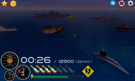 Silent Submarine - Naval war! - screenshot thumbnail