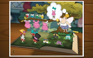 Screenshot of Grimm's Sleeping Beauty
