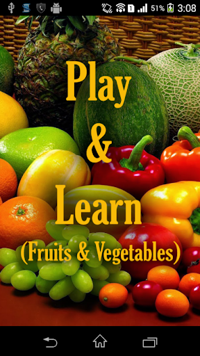 Play And Learn Fruits Veg