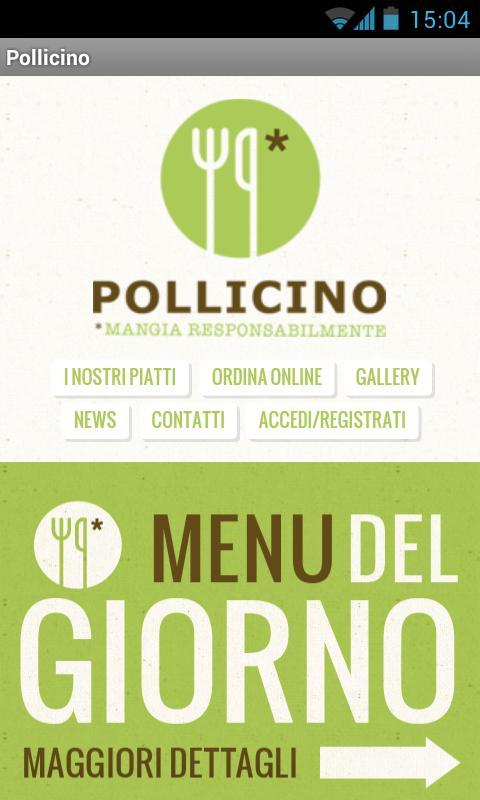 RistoBio Pollicino- screenshot