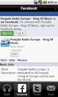 Punjabi Radio Europe - screenshot thumbnail