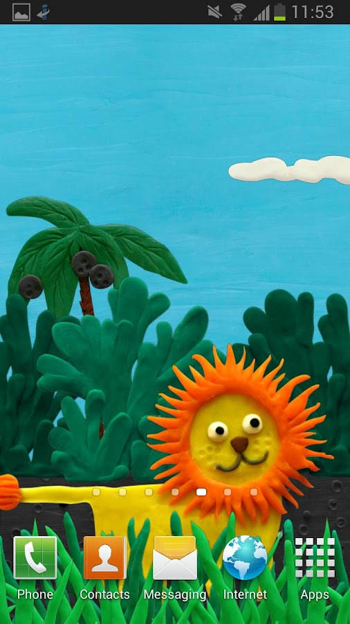 Plasticine jungle (free) - screenshot