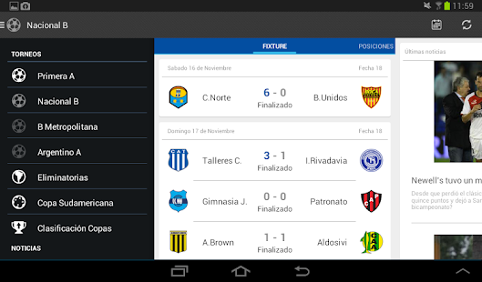 Liga Argentina de Fútbol Screenshot 19