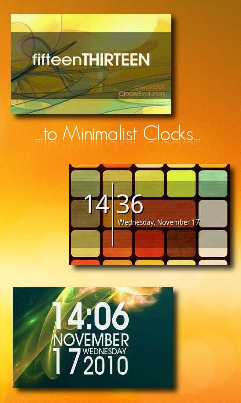 One More Clock Widget Free - screenshot