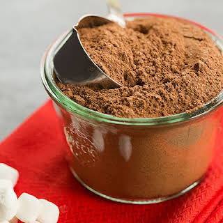 Easy Homemade Hot Chocolate Mix.