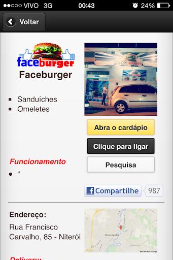 Faceburger Lanches