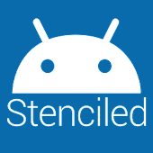 Stenciled Icons