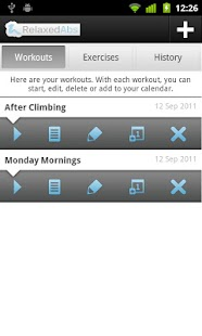 Relaxed Abs - Ab Workout Timer- screenshot thumbnail