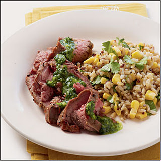 Cilantro Flank Steak