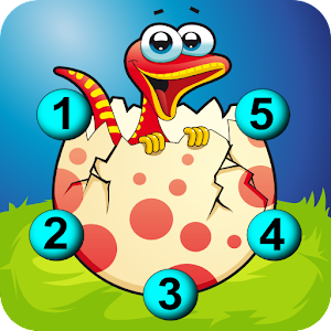Connect The Dots Dinosaurs HD for PC and MAC