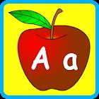 為孩子們的英文字母 icon
