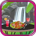 chicken kebab cooking games icon
