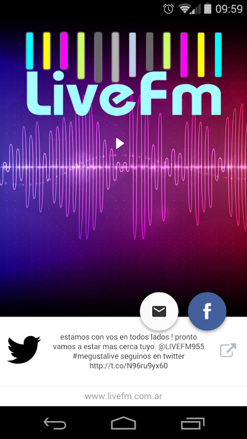 Live FM- screenshot