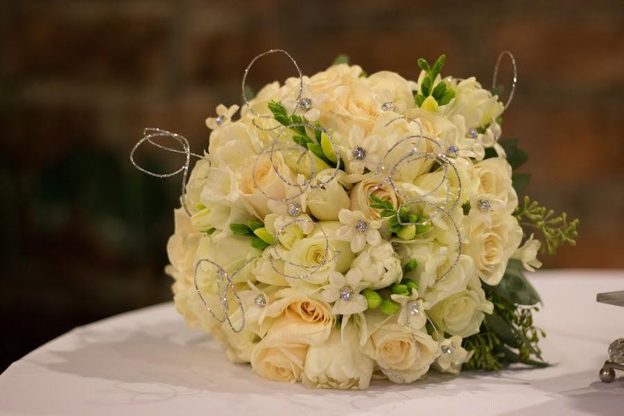 Bride Bouquet  by Pauline McBride - Wedding Details ( bouquet, winter, bridal, green, wedding, white, bride )