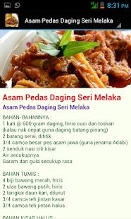 Resepi Daging Tradisi - náhled