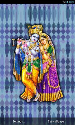 Radha Krishna Live Wallpaper - screenshot