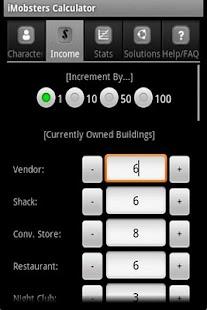 iMobsters Calculator- screenshot thumbnail