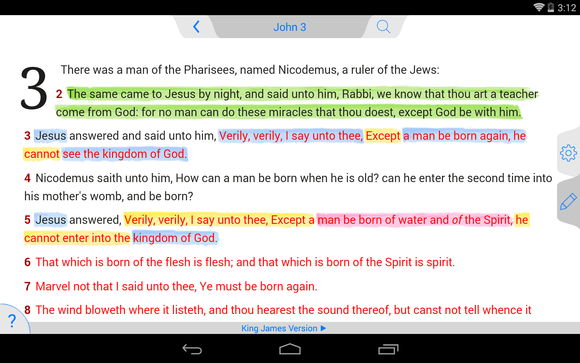NLT Bible screenshot #17
