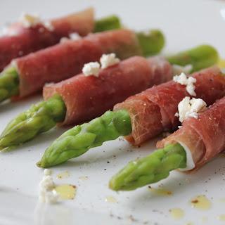 Suldalskinka Wrapped Asparagus.