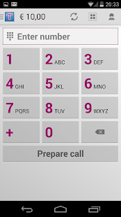Tariffic - make cheap calls - screenshot thumbnail