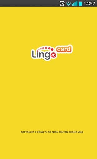 Lingo Card