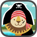 Pirate Preschool Puzzle Game icon