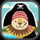 Pirate Preschool Puzzle Game icon