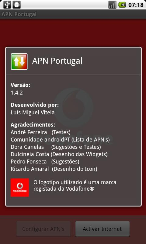 APN Portugal - screenshot